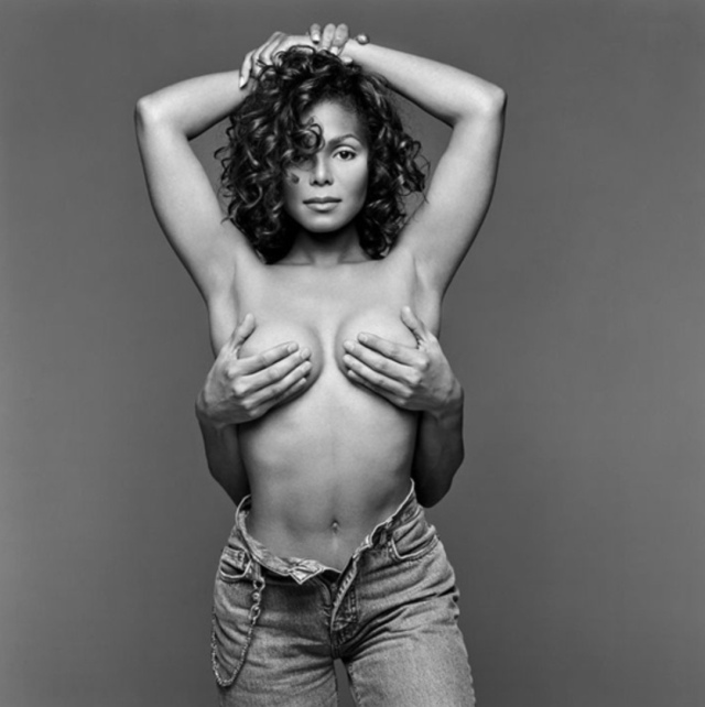 Janet Jackson, Miami, 1993, Patrick Demarchelier