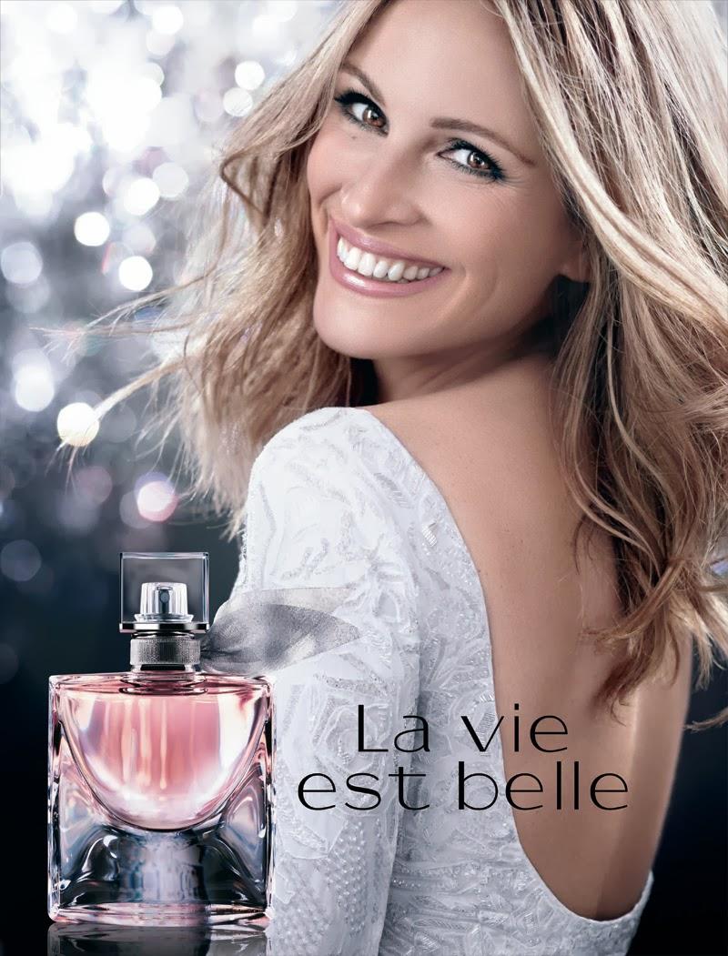 Julia Roberts for Lancôme La Vie est Belle