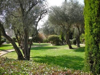 Le Cannet, Le Jardin Des Oliviers, Avenue Thiers Park
