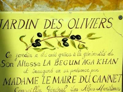 Le Cannet, Le Jardin Des Oliviers, Avenue Thiers