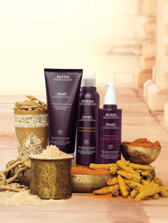 Aveda Invati Hair Treatment Range