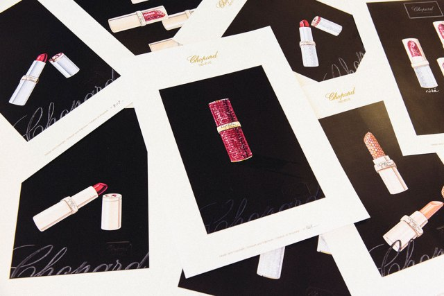 L'Oreal Color Riche by Chopard lipstick designs
