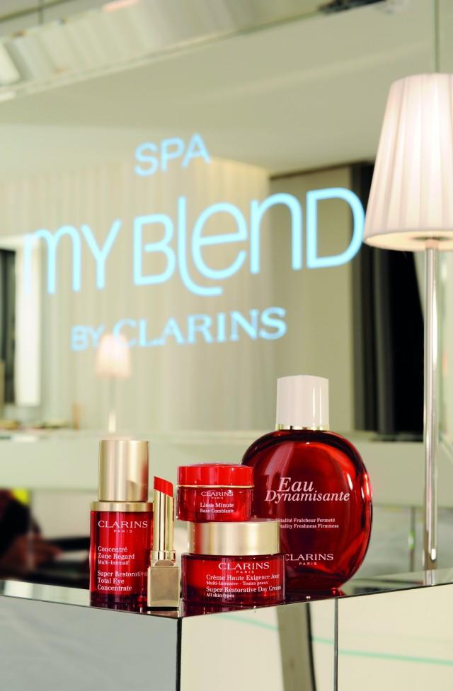 Spa My blend by Clarins - Royal Monceau-Raffles 7