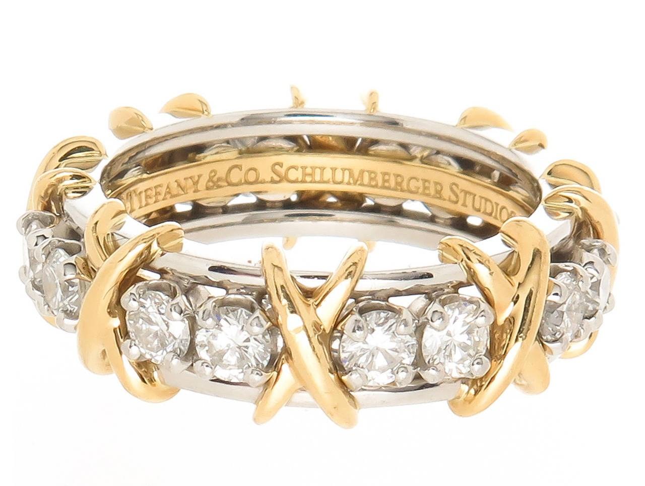 Tiffany & Co Jean Schlumberger Diamond Ring