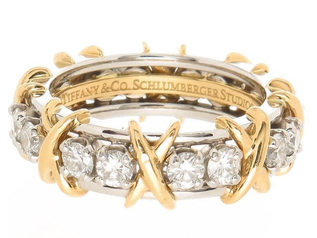 Tiffany & Co Jean Schlumberger Diamond Ring