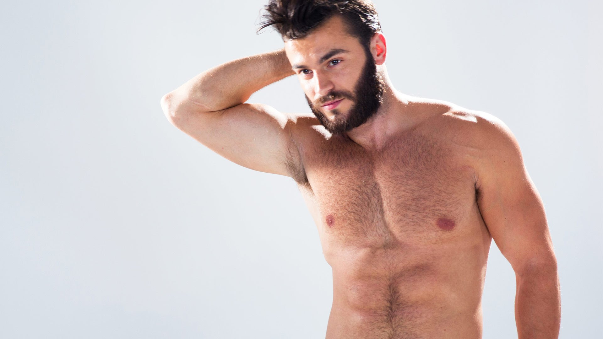 Mens-Standards-Of-Beauty-Around-The-World-Naked-Hairy-Chest-Muscle-