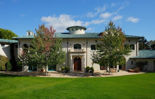 Robin Williams Napa Estate Villa Sorriso front door