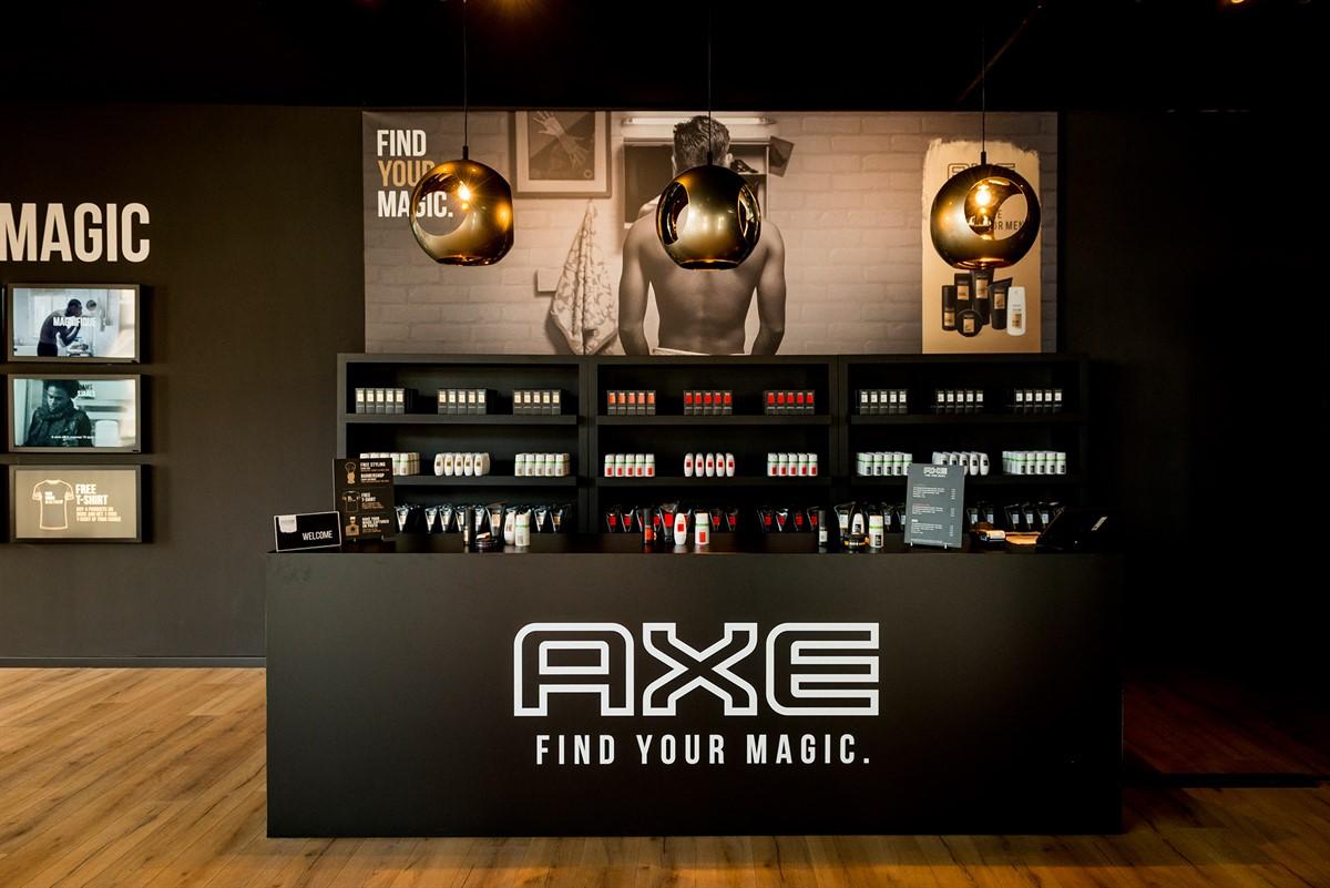 Axe PopUp Store Brussel