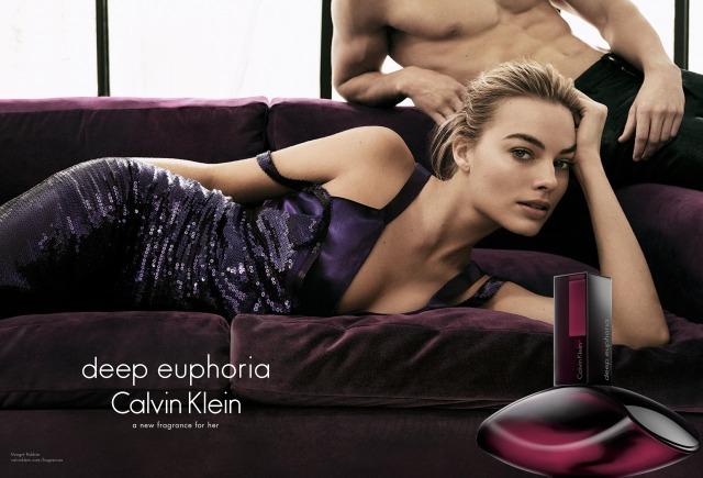 Calvin Klein Deep Euphoria ad