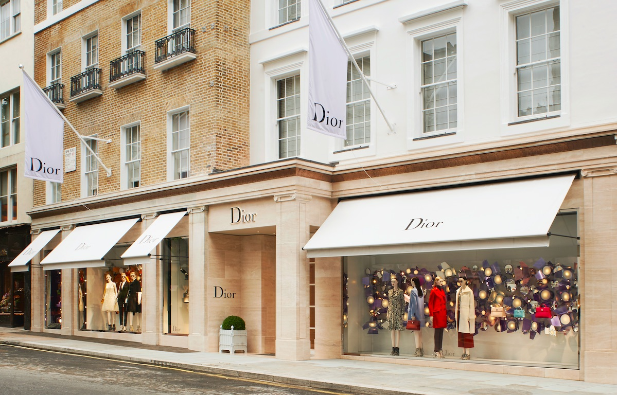 Christian Dior New Bond Street London0