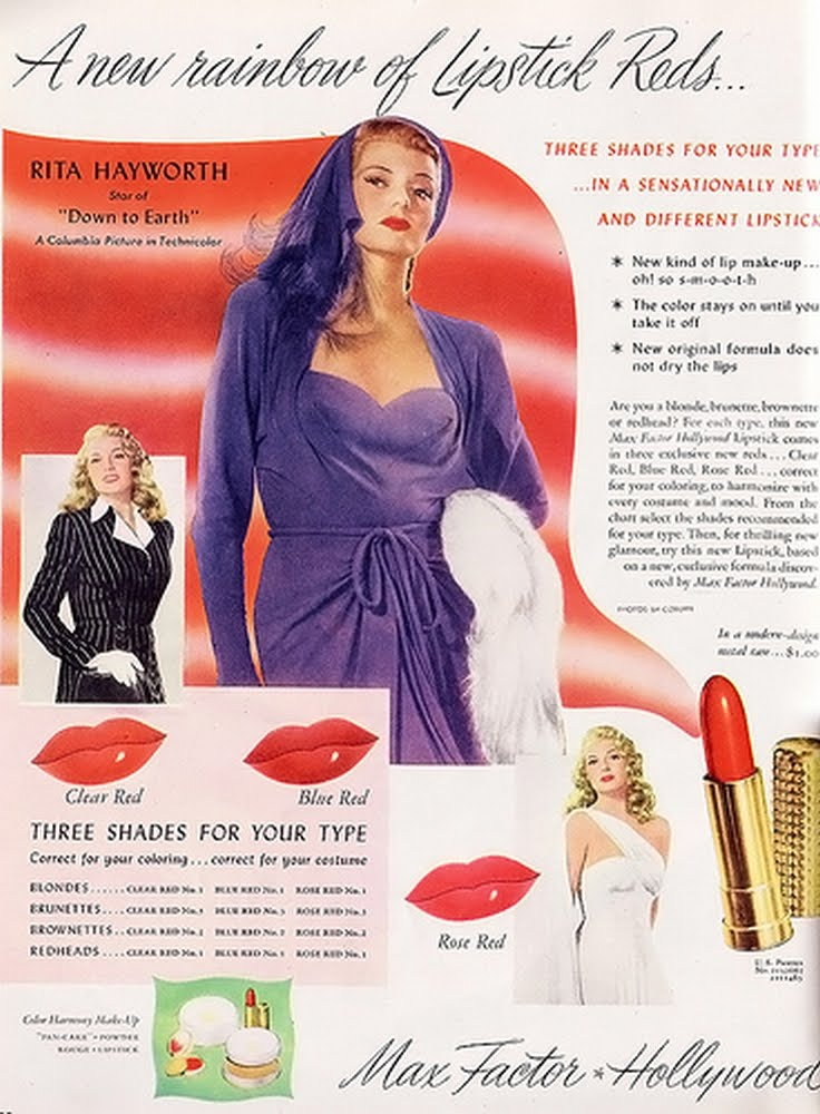 Max Factor Rita Hayworth lip gloss