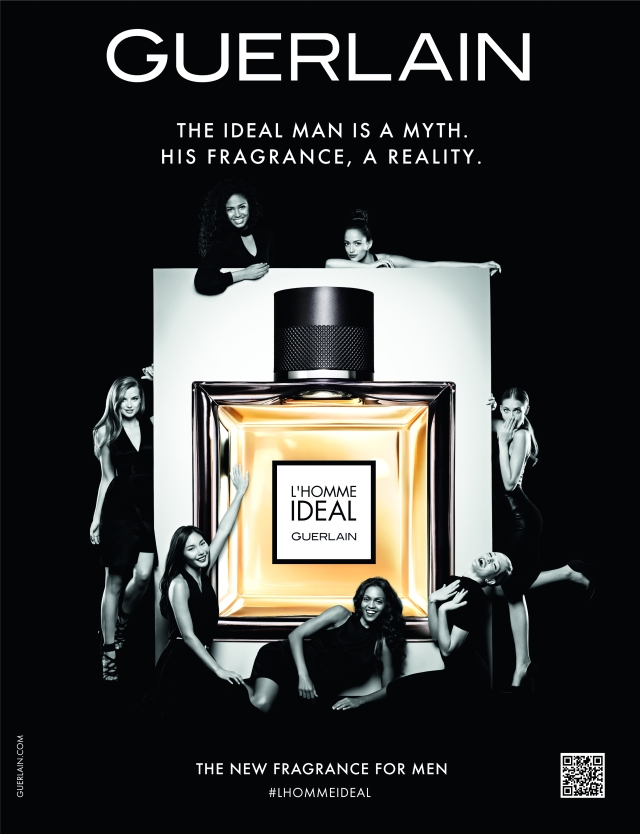 Guerlain L'Homme Ideal, 2014 ad