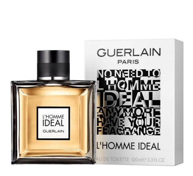 Guerlain L'Homme Ideal, 2014.