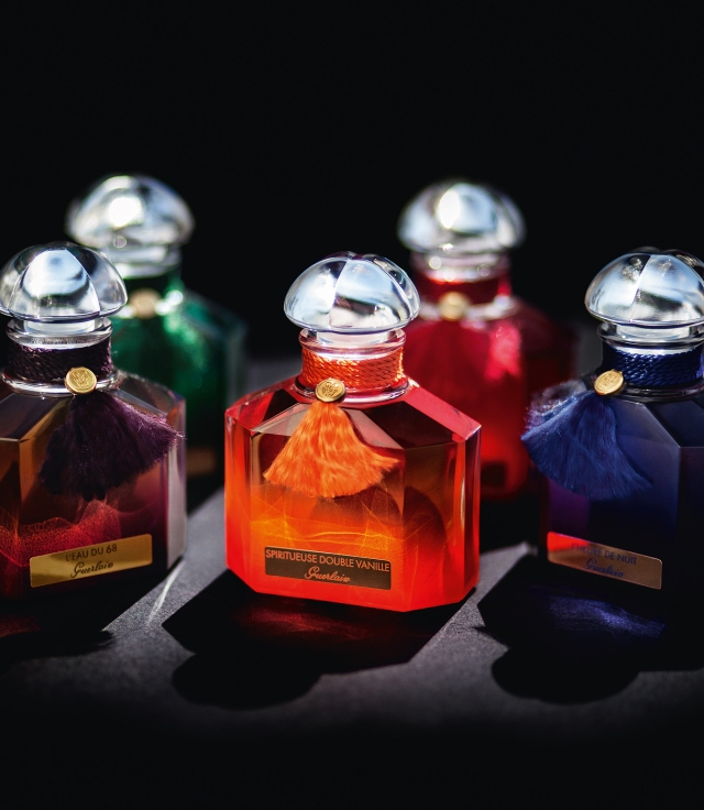 Guerlain's Quadrilobe Bottle Colour Collection
