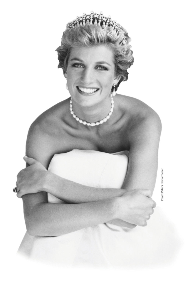 A Photograph By Patrick Demarchelier Of Princess Diana Published In The July 2007 Issue