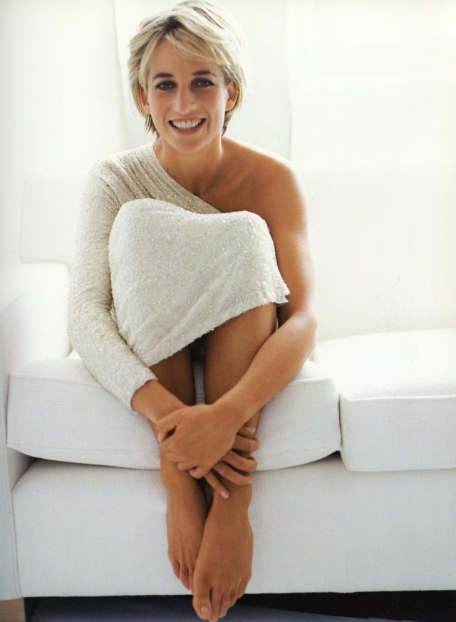 Diana, Princess of Wales, London, Vanity Fair, 1997 l