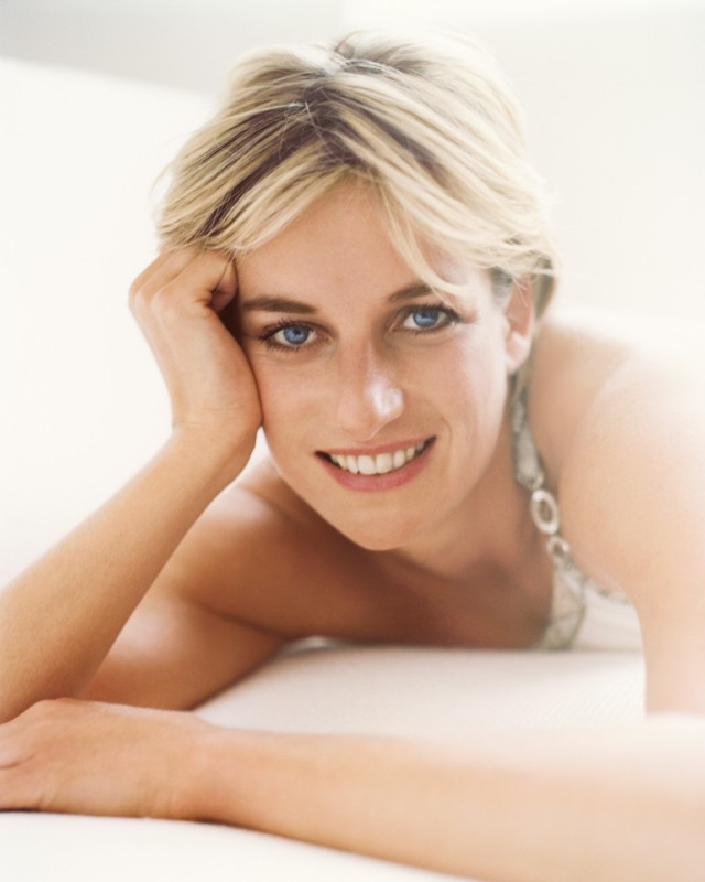 Diana, Princess of Wales, London, Vanity Fair, 1997