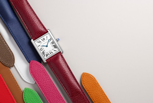 cartier-tank-colorful-belts