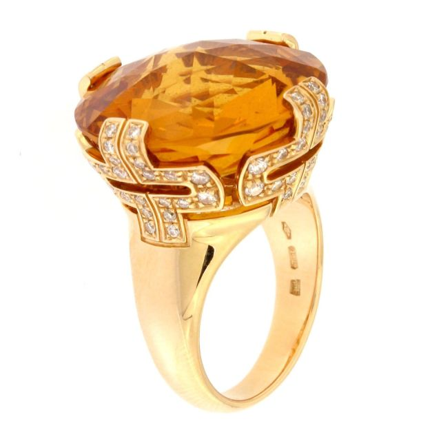 Bulgari Parentesi Citrine Large Ring with Diamonds Yellow Gold.jpg
