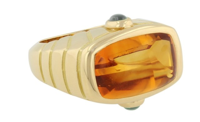 Van Cleef & Arpels Citrine Ring in