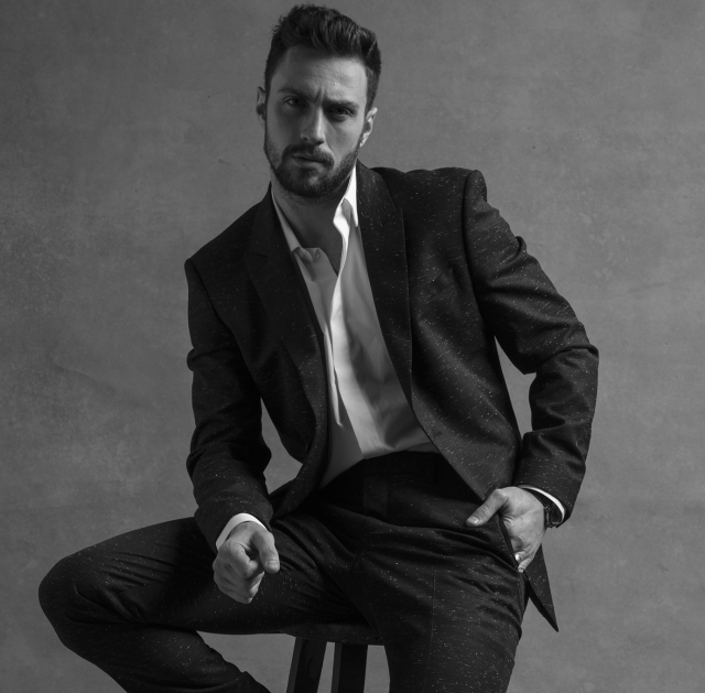 Aaron Taylor-Johnson Givenchy Fragrance by Amanda Demme