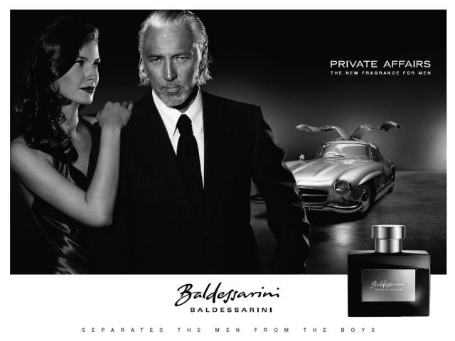 Baldessarini Private Affairs ad 2