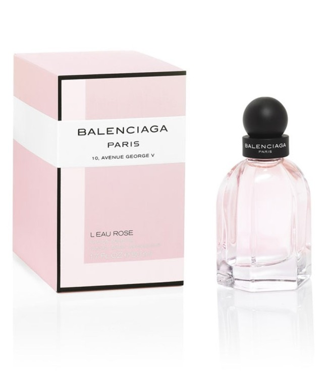 Balenciaga L_Eau Rose bottle box