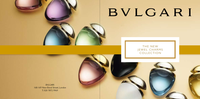 Bvlgari Jewel Charms Collection invitation1