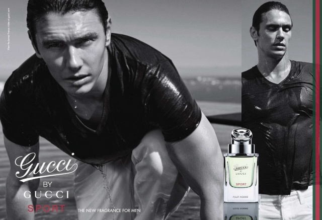 Gucci by Gucci Sport ad James Franco2