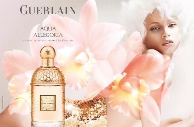 Guerlain Aqua Allegoria Rosa Blanca ad