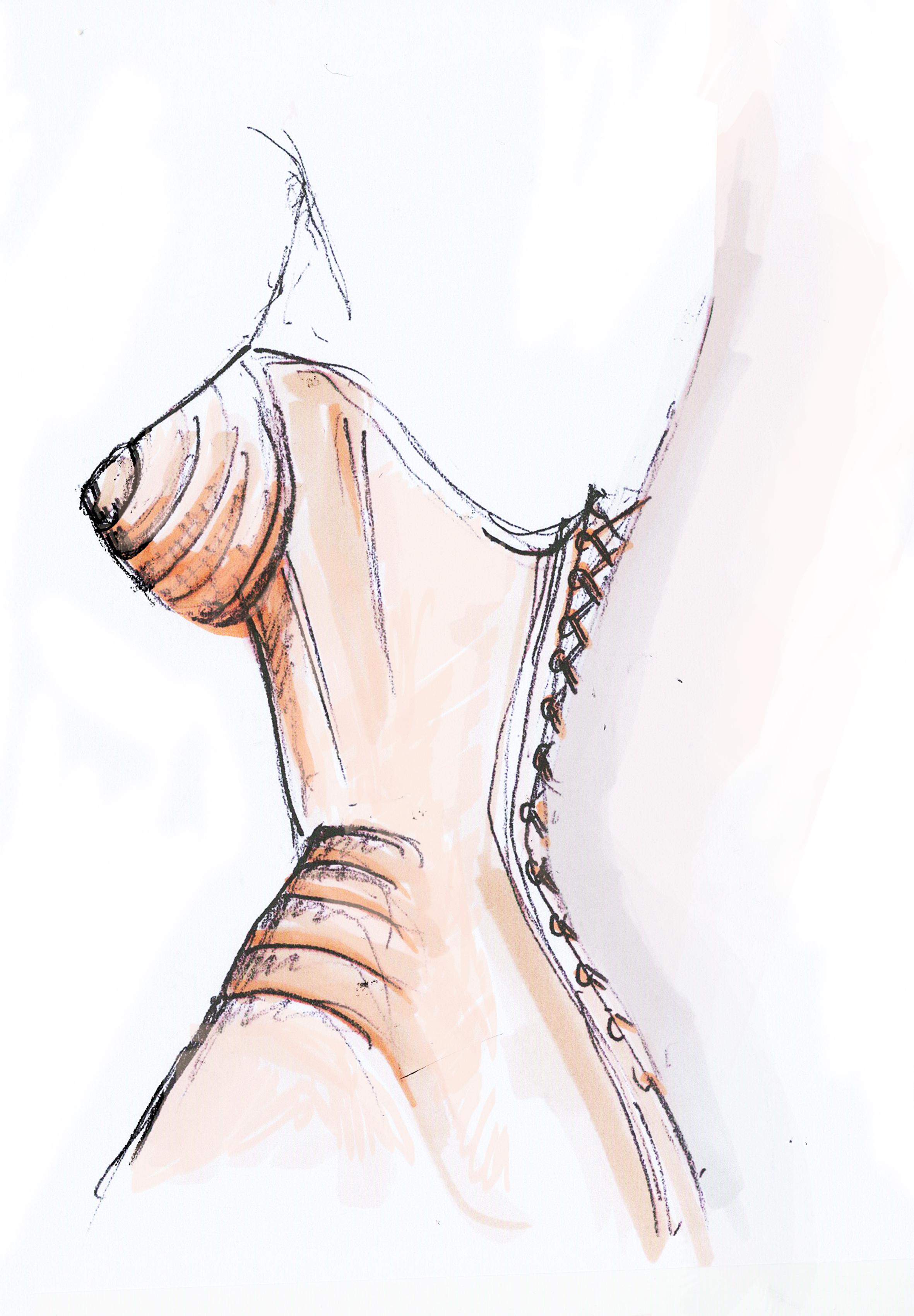 Jean Paul Gaultier Classique Belle en Corset2.jpg