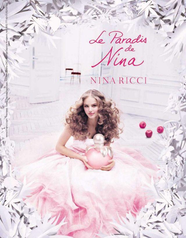 Le Paradis de Nina by Nina Ricci ad.jpg