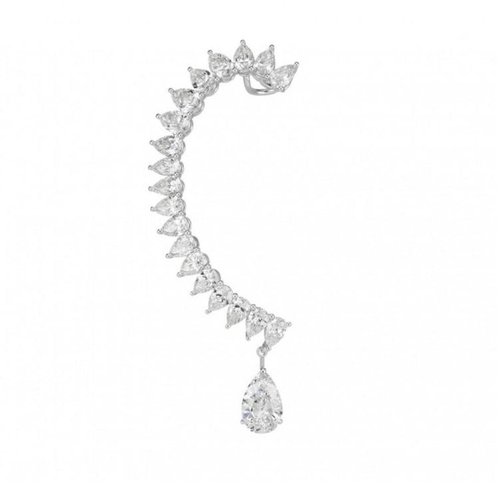 Rihanna Loves Chopard Haute Joaillerie Collection Diamond Earring