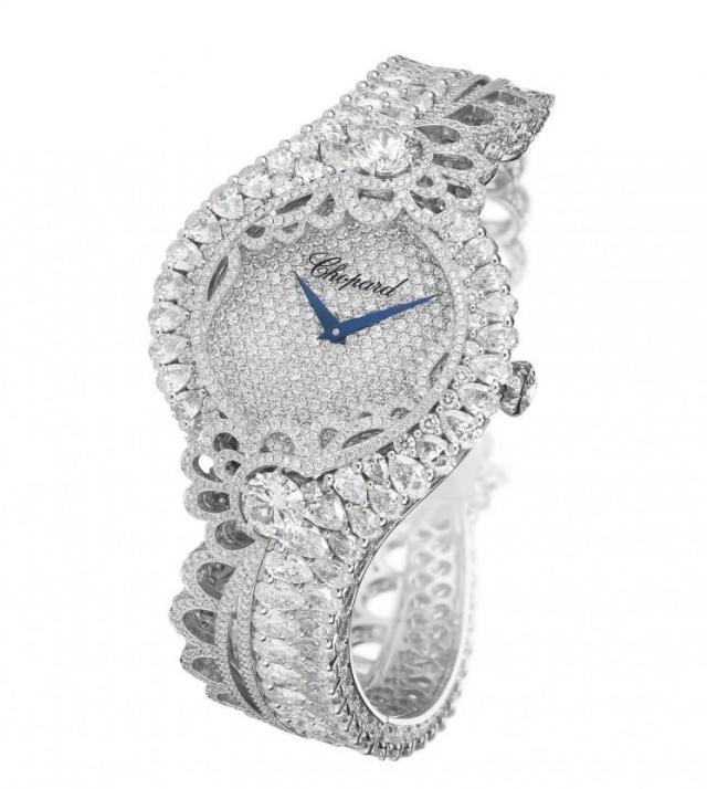 Rihanna Loves Chopard Haute Joaillerie Collection Diamond Watch