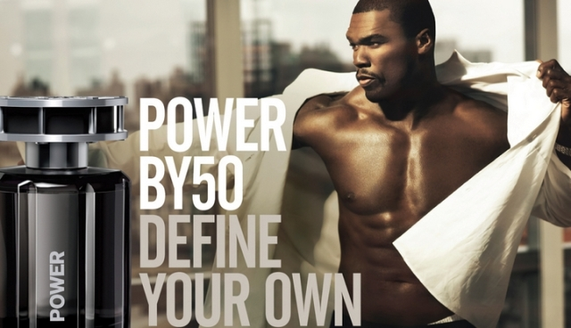The hot hip hop mogul, Curtis James, aka 50 cent, debuts his first fragrance for men..jpg