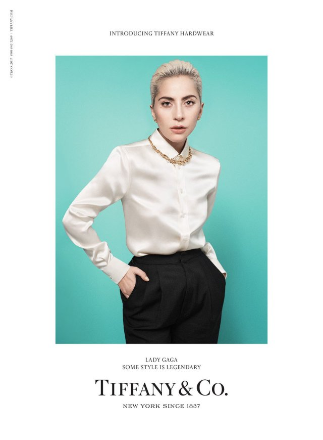 Tiffany & Co unveil new campaign featuring Lady Gaga