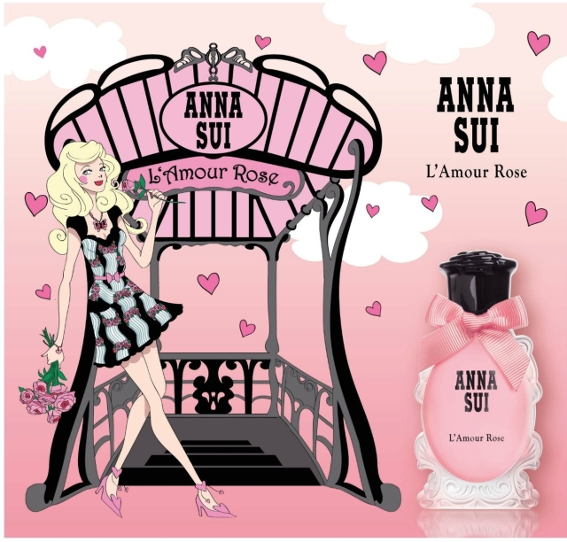 Anna Sui L_Amour Rose Eau de Toilette Visual