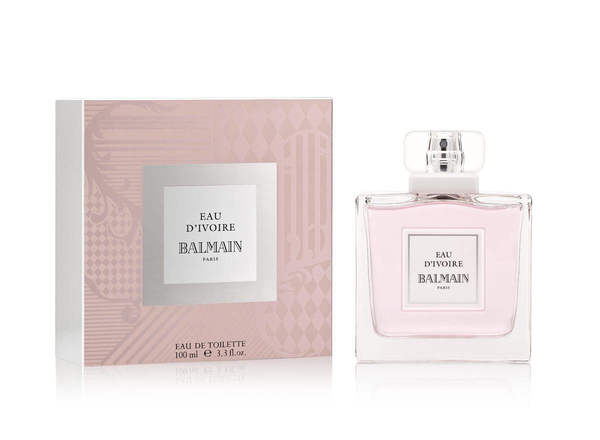 Balmain Eau d_Ivoire Bottle box