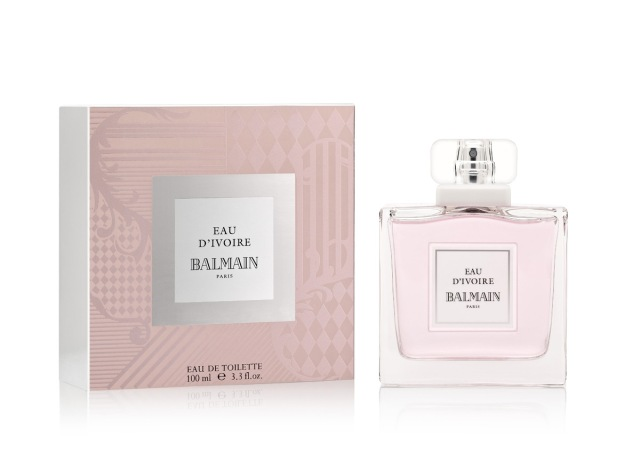 Balmain Eau d_Ivoire Bottle box