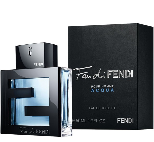 Fan di Fendi pour Homme Acqua flacon box2