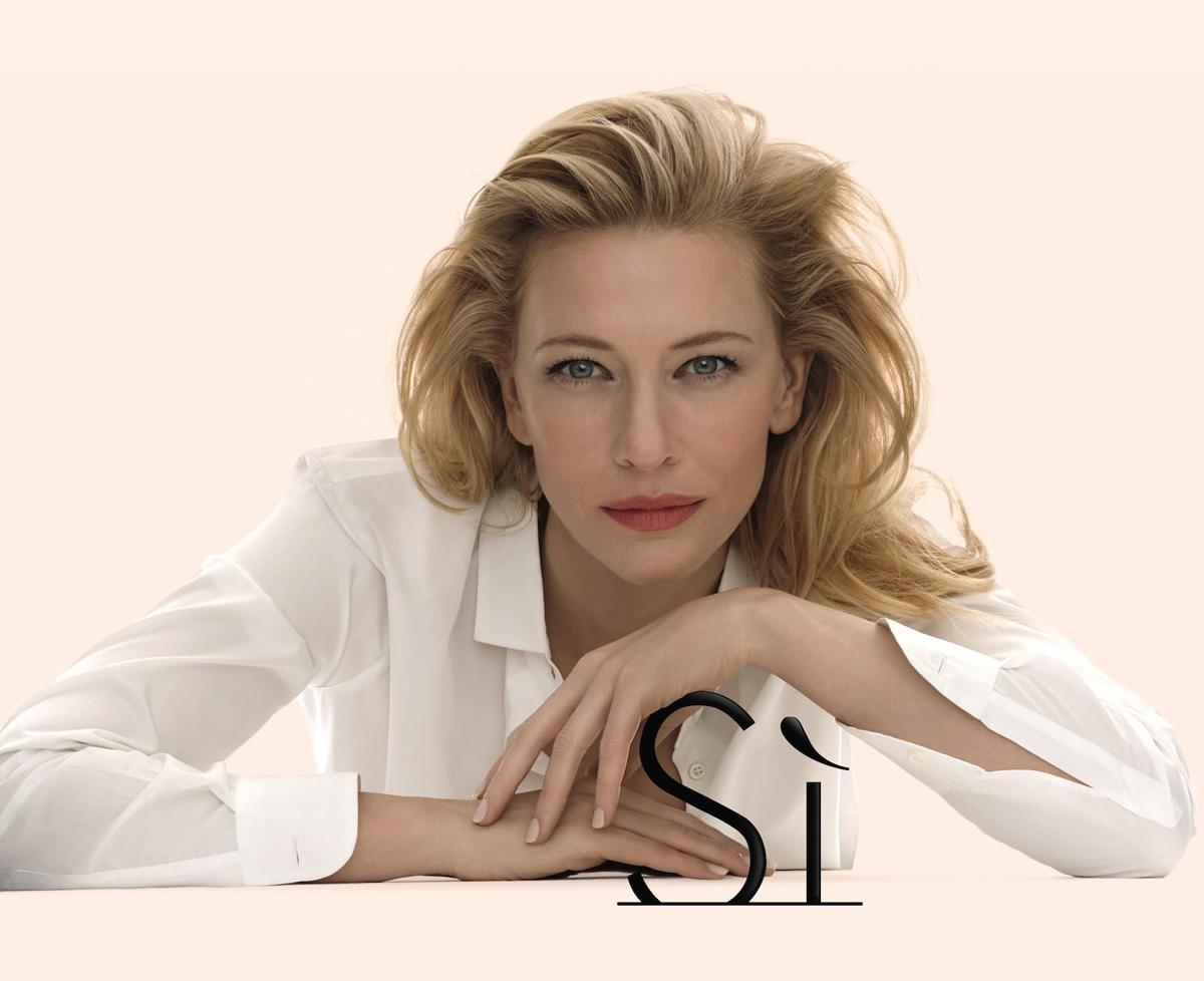 Giorgio Armani Si Cate Blanchett Visual0
