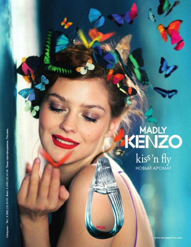 Kenzo Madly Kenzo! Kiss 'n Fly visual
