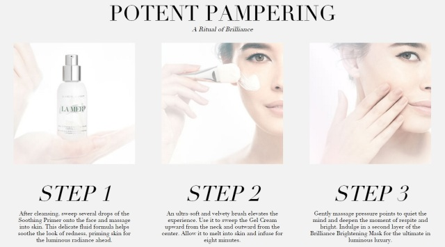 La Mer The Brilliance Brightening Mask How To Use