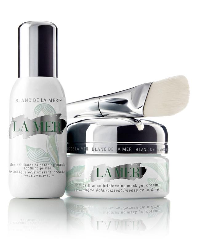 La Mer The Brilliance Brightening Mask set