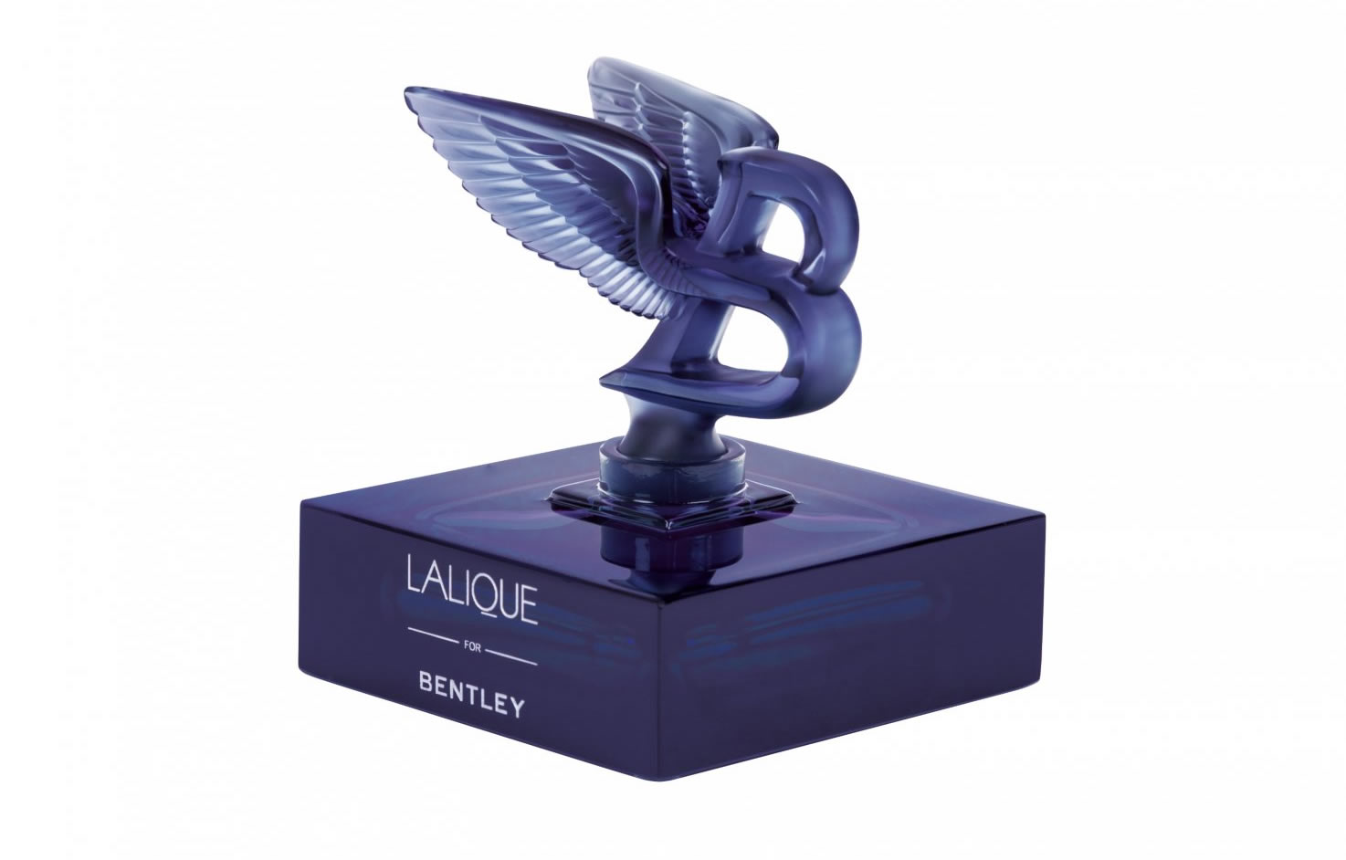 lalique for bentley blue crystal limited edition 2