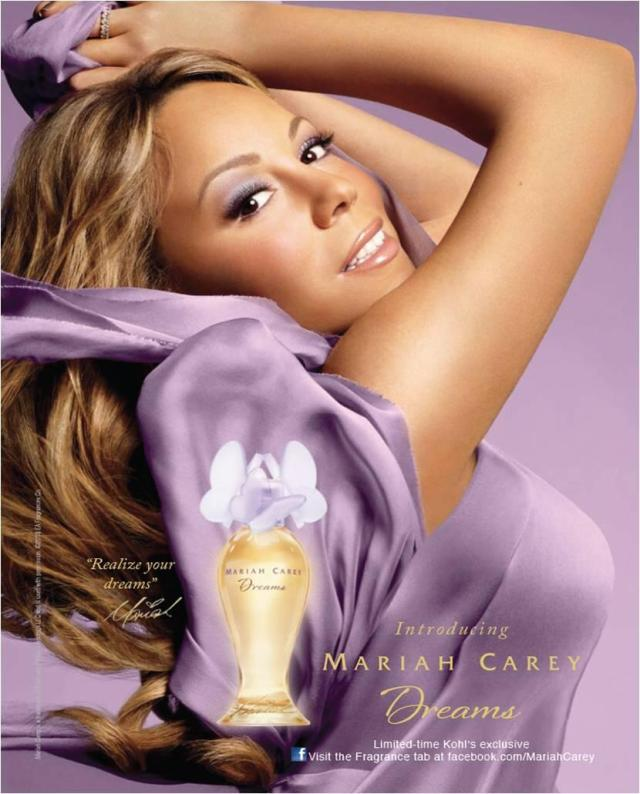 Mariah Carey Dreams ad2