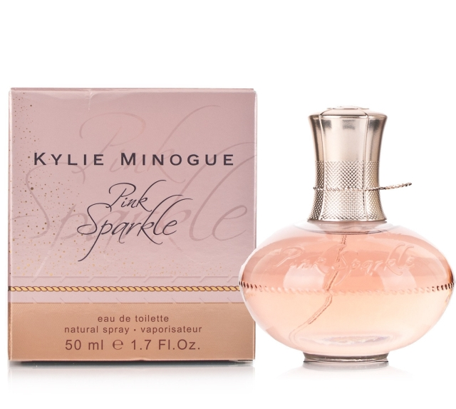 Pink Sparkle Kylie Minogue Flacon Box