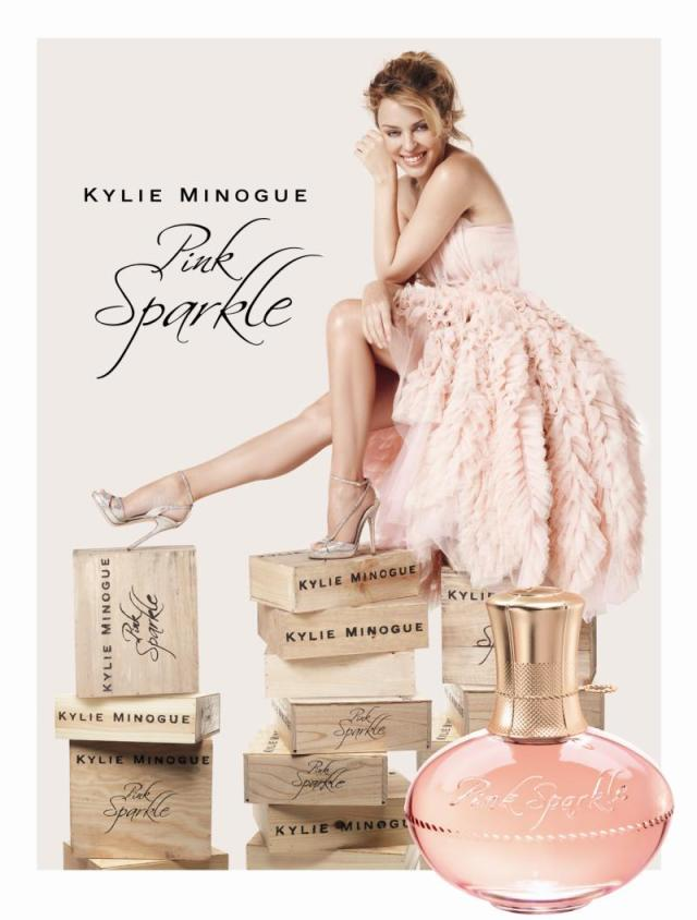Pink Sparkle Kylie Minogue Visual