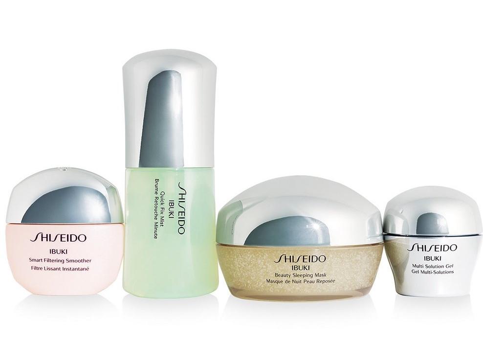 Shiseido Ibuki Range and Smart Filtering Smoother