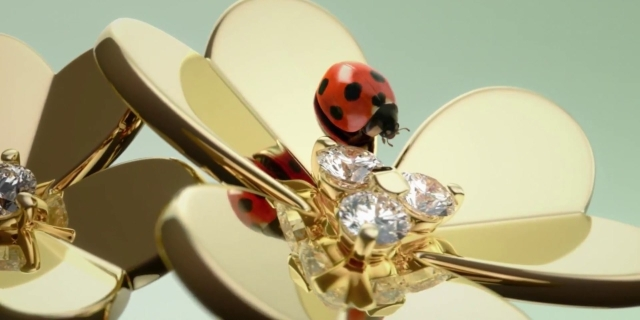 Van Cleef & Arpels Frivole collection video